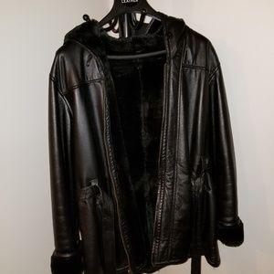 Wilson's genuine leather coat